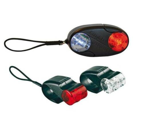 Cordo Citylite Automatic Bike Front /& Rear Compact Bright Beam LED Lights Mini