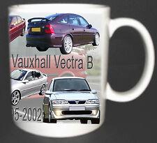 VAUXHALL VECTRA B CLASSIC CAR MUG LIMITED EDITION 1995-2002. COLLECTORS MUG