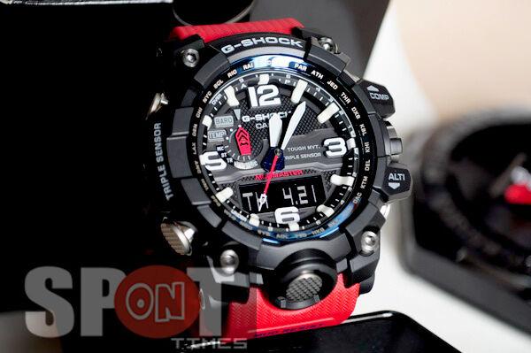 Casio G Shock MUDMASTER Rescue Red Watch Wristwatch Gwg-1000rd-4a Gwg1000  for sale online  55f0ce92ce