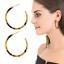 Boho-Women-Jewelry-Acrylic-Resin-Tortoise-Shell-Hoop-Earrings-Round-Circle thumbnail 290