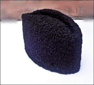 15598918db6 Details about Brand New Karakul Persian Lamb Kufi Fur Sheep Broad Tail  Russian Jinnah Hat Cap