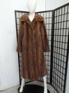 Fur Woman Small Coat Size Women Mint Jacket Buff 6 Mink Canadian Demi gUnAIq8T