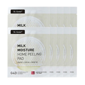 10pcs Dr.Grand+ Milk Moisture Home Peeling Pad