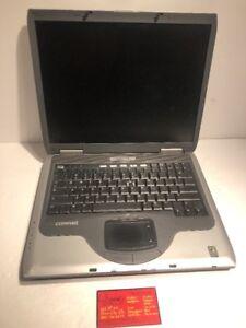 hp compaq presario 2100 laptop intel celeron cpu 1gb ram no hdd ebay rh ebay com Compaq Presario 2100 Specifications Compaq Presario 2100 Laptop Specs