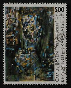 Timbre poste. France. n°2493. Camille Bryen. année 1987