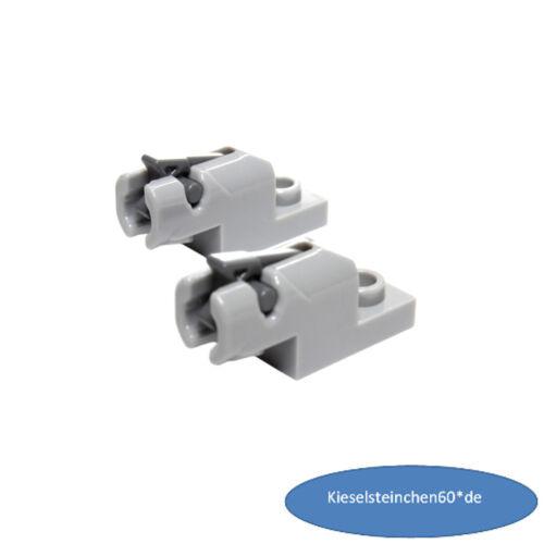 15403 Lego ® 2x Mini Blaster gris clair 15392 6167514 6051334