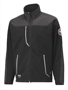 HELLY HANSEN MEN'S BARNABY JACKET-BLACK/D<wbr/>ARK GREY-#72048-99<wbr/>9-SIZES S,M,L