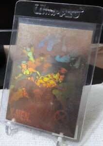 IMPEL 1992 X-Men Series 1 X-MEN Hologram Card