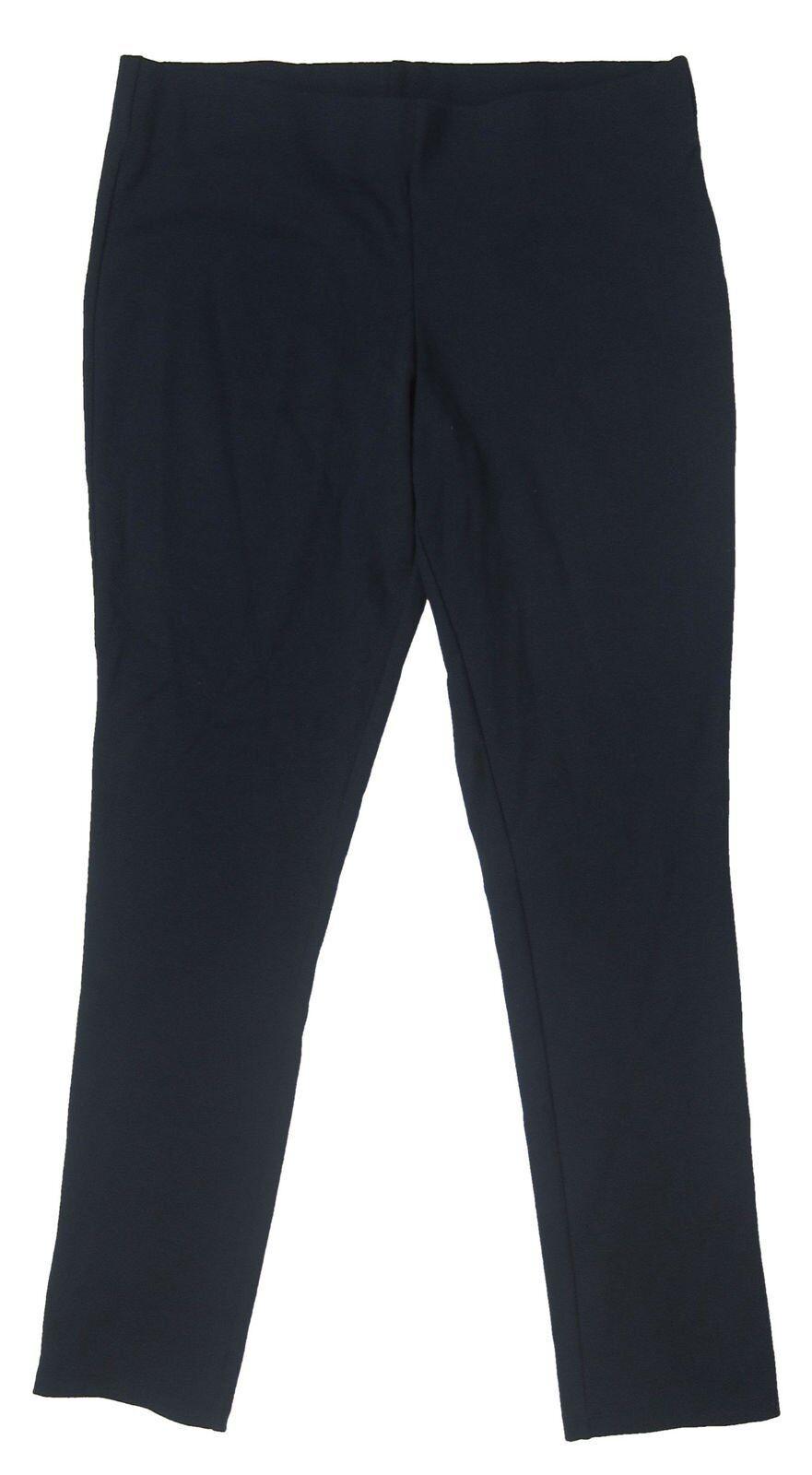Lauren Ralph Lauren - NWT Women's Navy Stretch Straight Pant - Petite Medium