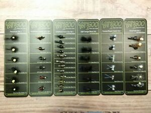 Yangoo Fliegen Set´s in verschiedenen Ausführungen, Parachute,Sedge,Nymphen etc.