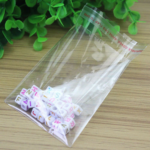 400er Druckverschlußbeutel Plastikbeutel Schmuck ZIP Beutel Taschen Polybeutel