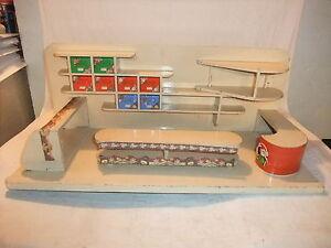 sch ner alter kaufmannsladen tante emma laden kinder einkaufsladen puppenstube ebay. Black Bedroom Furniture Sets. Home Design Ideas
