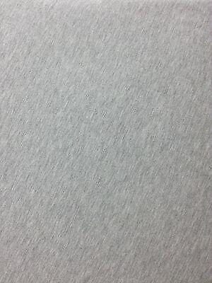 Modal Spandex Jersey Knit Fabric Light Heather Grey