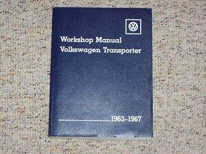 1966 vw volkswagen transporter shop service repair manual kombi bus rh ebay com 1972 VW Bus 1967 VW Bus
