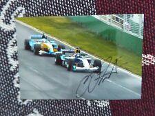 "6"" x 4"" HAND SIGNED PHOTO - HEINZ HARALD FRENTZEN - SAUBER F1"