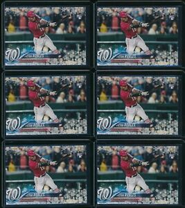 2018-Topps-Holiday-Victor-Robles-RC-6-Card-Lot-189-HMW189-Rookie