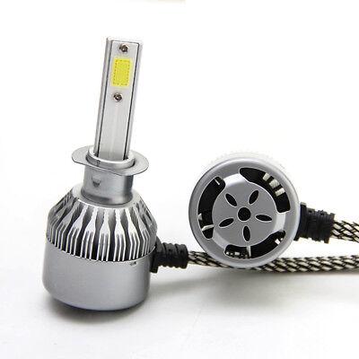 Pair For BMW  H7 6000K 36W HID LED Headlight Light Kits C6 Cob LED Fog Lamp