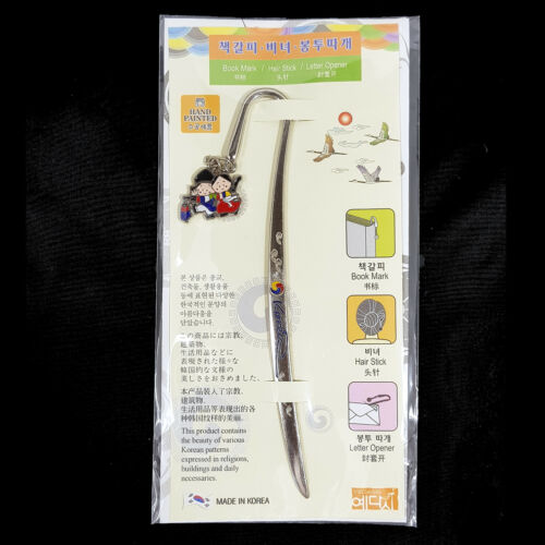 YEDASIE Metal Hairstick Letter Opener Bookmark Stick Korean Memorial Memorabilia