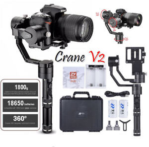 Zhiyun-Crane-V2-3-Axis-Stabilizer-Follow-Focus-for-DLSR-Carry-up-to-3-9-LBs