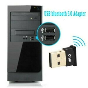Trasmettitore  Ricevitore USB bluetooth 5.0 Adattatore  per PC Win 10 8 7/XP OSX