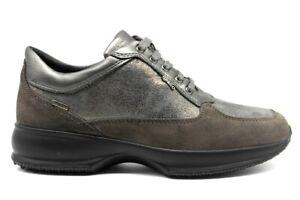 IGIeCO-4144511-Grigio-Sneakers-Scarpe-Donna-Calzature-Casual