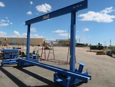 15 Ton Rolling Gantry Crane With 18 Span Adjustable Height 78ft 129ft
