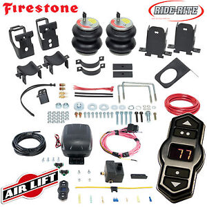 Firestone Ride Rite Air Bags Airlift Air Compressor For 11 16 Ford