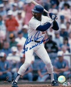 Mike-Davis-Signed-8X10-Photo-034-88-World-Champs-034-Autograph-LA-Dodgers-Auto-COA