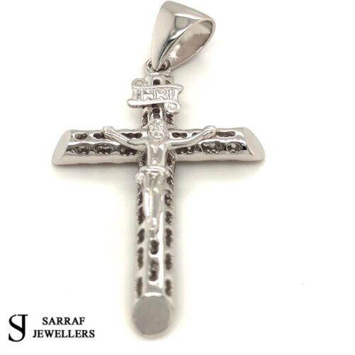 925 Sterling Silver Pendant CRUCIFIX Genuine Cross FREE UK POST BRAND NEW