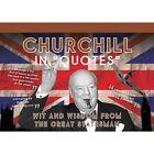 Churchill in Quotes Postcards Card Book 9781907708596 Ammonite Press