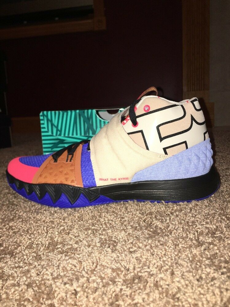"Nike Kyrie S1 Hybrid ""What The"" Size 11 Multi color  Multi color AJ5165 900"