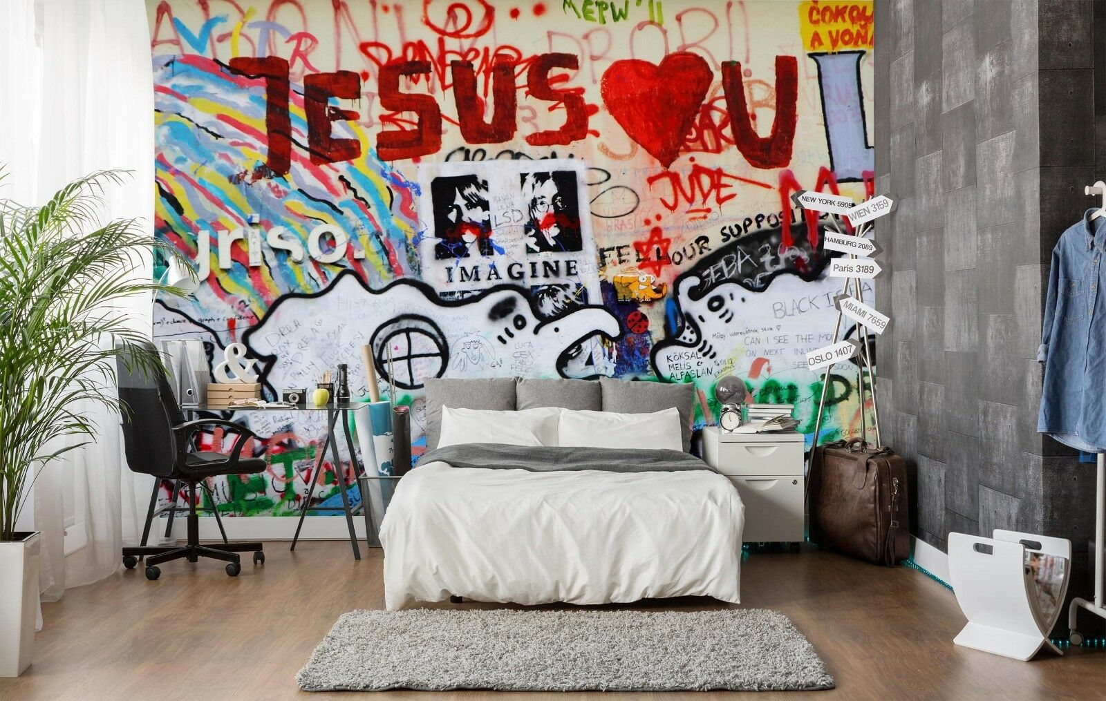3D Jesus 7114 Wall Paper Murals Wall Print Wall Wallpaper Mural AU Summer
