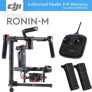 DJI-RONIN-M-3-Axis-Handheld-Gimbal-Stabilizer-2-BATTERIES