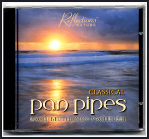 Classical-Panpipes-Instrumental-Music-CD-Bach-Beethoven-Pachelbel-New-amp-Sealed