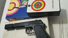 VINTAGE GUN RAY PISTOL PLASTIC TOY BATTERY OPERATED ORIGINAL BOX and INSTRUCTON