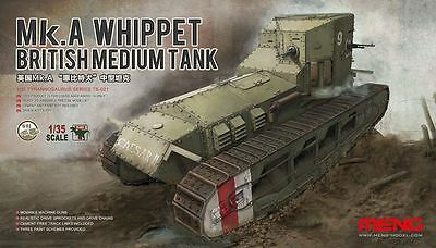 Meng Model 1/35 TS-021 British Medium Tank Mk.A Whippet