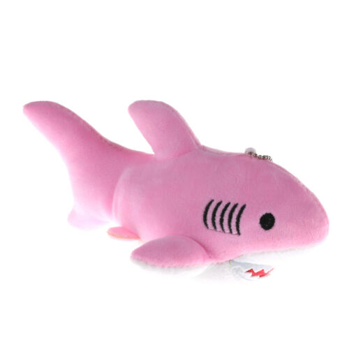 18cm Cute Shark Plush Toys Kawaii Pendant Keychain Stuffed Animals Kids GIFT、Fad