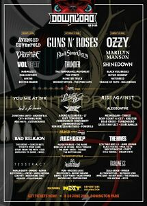 Details about Download 2018 Music Poster A3 A4