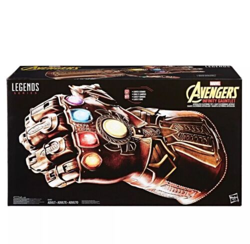 Marvel Legends Avengers Infinity Gauntlet Articulated Electronic Fist Thanos