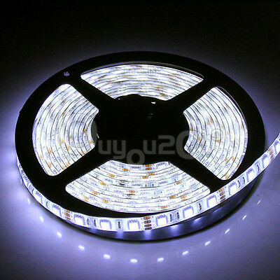 5M Waterproof 3528/5050/5630 SMD RGB Flexible LED Strip Light Lamp Xmas Deco