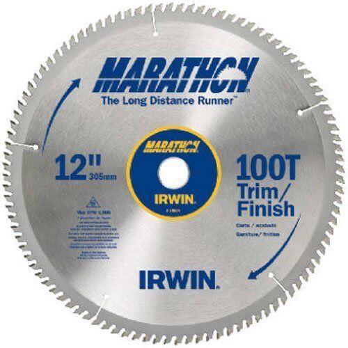 IRWIN Tools MARATHON Carbide Table   Miter Circular Blade, 12-Inch, 100T (14084)