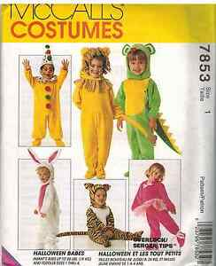McCall/'s 7853 Misses/' Costume  Sewing Pattern