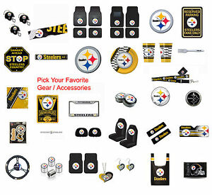 NFL-Pittsburgh-Steelers-Pick-Your-Gear-Automotive-Accessories-Official-Licensed