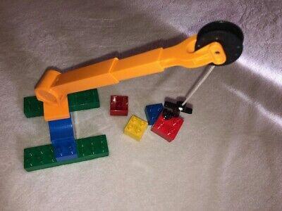 LEGO DUPLO KRAN STEINBRUCH DREHPLATTE DREHSCHEIBE BAUSTELLE Eisenbahn 92005