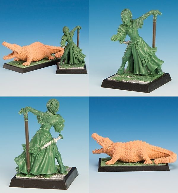 Freebooter's Fate - Madame Gorgonne & Caesar Freebooter Miniatures Mercenary