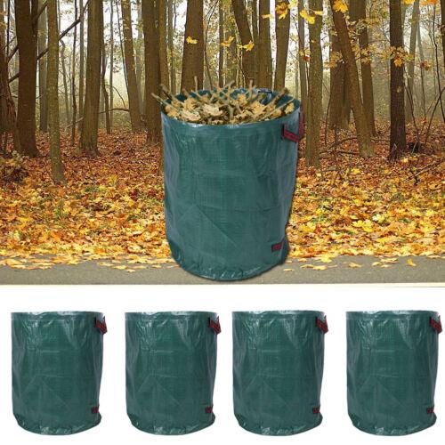 4x PP Müllsack Abfallsack Laubsack Gartensack Blätter Laub Müll Abfall Sack 270L