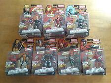 Marvel Legends NEW - TERRAX BAF Set/Lot of 10 VARIANTS Ghost Rider Steve Rogers