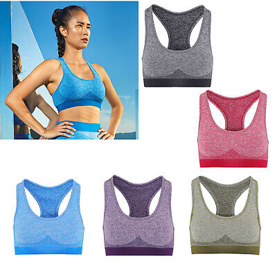 tr210 Reliable Tridri Women's Seamless 3d Fit Multi-sport Sculpt Bra Gym Bra