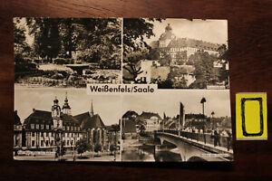 Postkarte-Ansichtskarte-Sachsen-Anhalt-Weissenfels-Saale