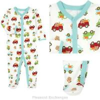 Gymboree 0 3 Mos Brand Baby Beaver Boys 1pc Footed Sleeper Romper Twin